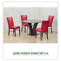 ASTER PARSON DINING SET 1+4